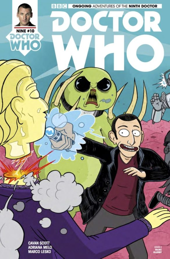 Doctor Who: The Ninth Doctor #10 - Cover C