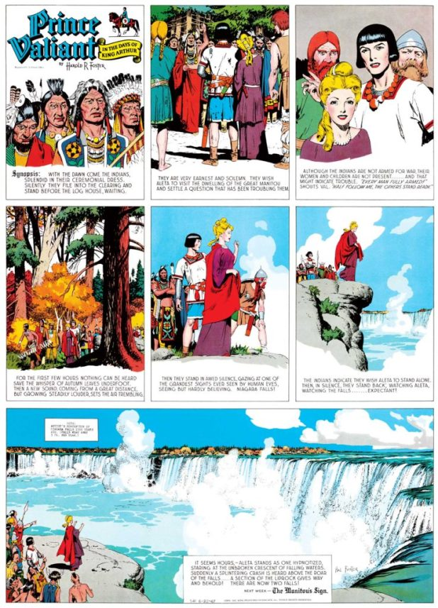 Prince Valiant, 22nd June 1947
