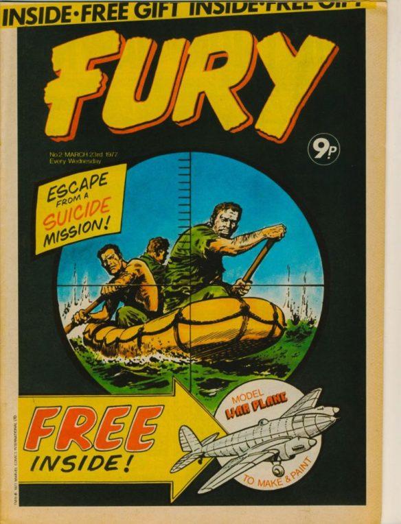 Fury #2 - cover by Eric Bradbury