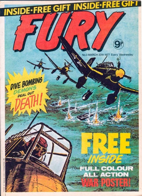 Fury #3 - cover by Carlos Ezquerra