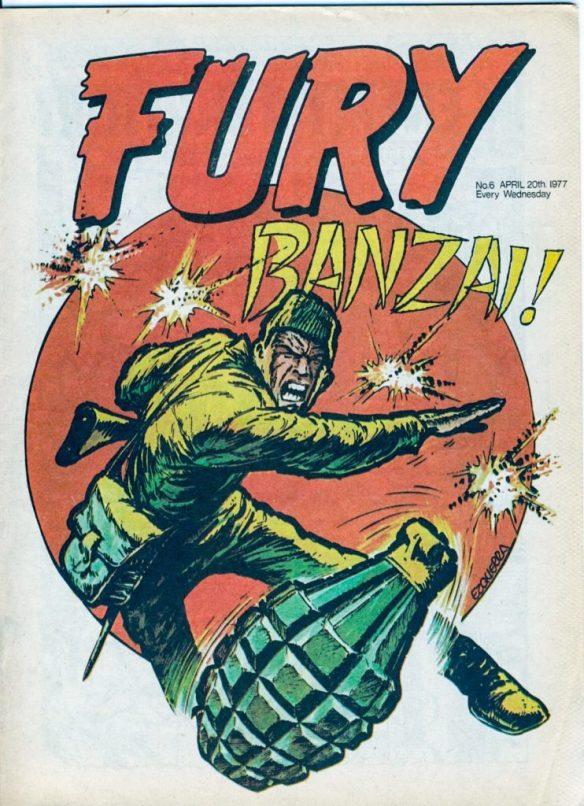 Fury #5 - cover by Carlos Ezquerra
