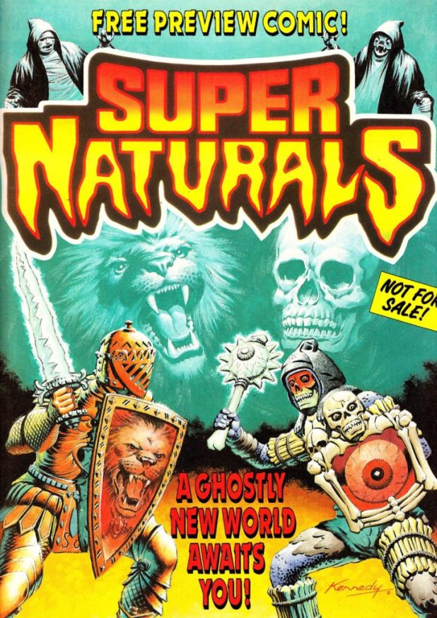 Super Naturals Preview Comic