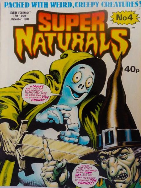 Super Naturals Issue Four - Cover