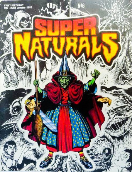 Super Naturals Issue Six - Cover