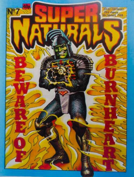 Super Naturals Issue Seven - Cover