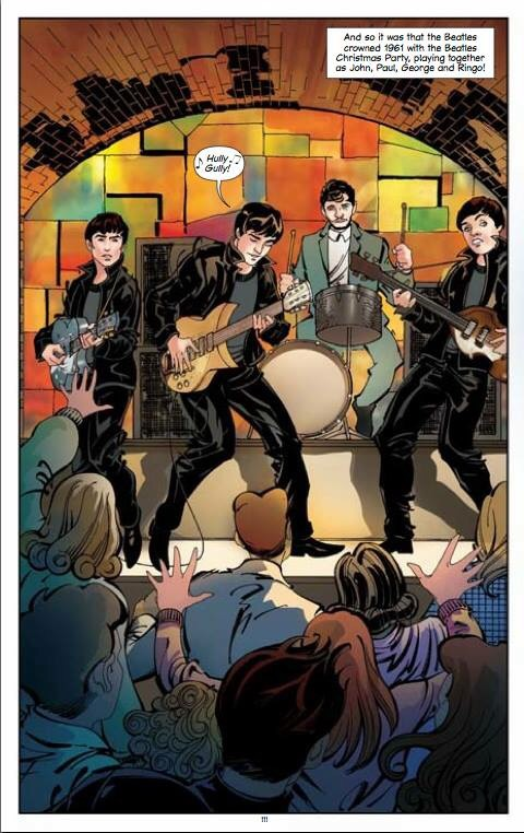 The Beatles: All Our Yesterdays - Art