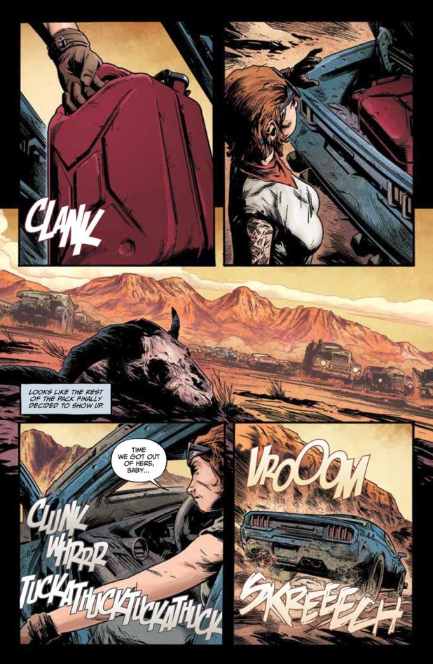 Freeway Fighter #1 - Preview 6