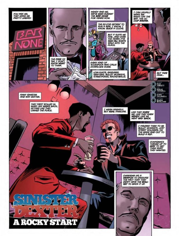 2000AD Prog 2021 - Sinister Dexter: A Rocky Start