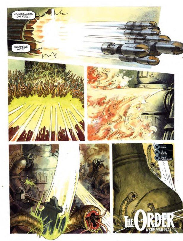 2000AD Prog 2021 - The Order: Wyrm War