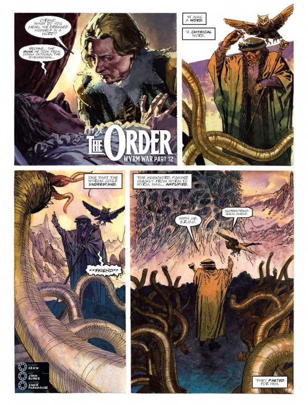 2000AD 2022 - The Order:  Wyrm War