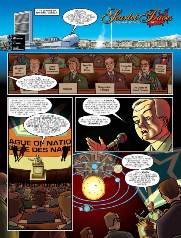 2000AD 2023 - Scarlet Traces: Cold War - Book 2