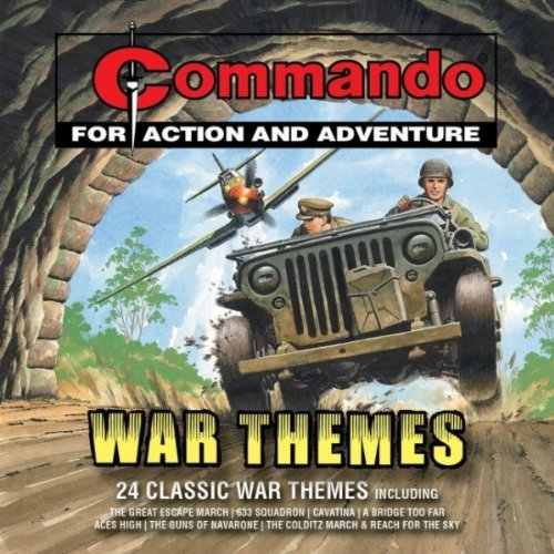 Commando Music CD - War Themes