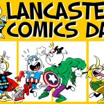 Lancaster Comics Day 2017 Poster SNIP