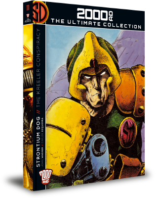 2000AD: The Ultimate Collection - Strontium Dog - The Kreeler Conspiracy