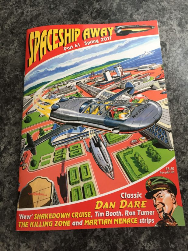 Spaceship Away Issue 41 - Cover by Graham Bleathman