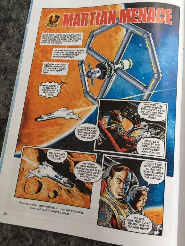 Dan Dare - Martian Menace by John Freeman, Joe Pimenetel and John Ridgway