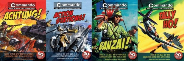 Commando Book Covers