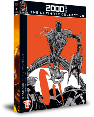 2000AD: The Ultimate Collection - Shakara