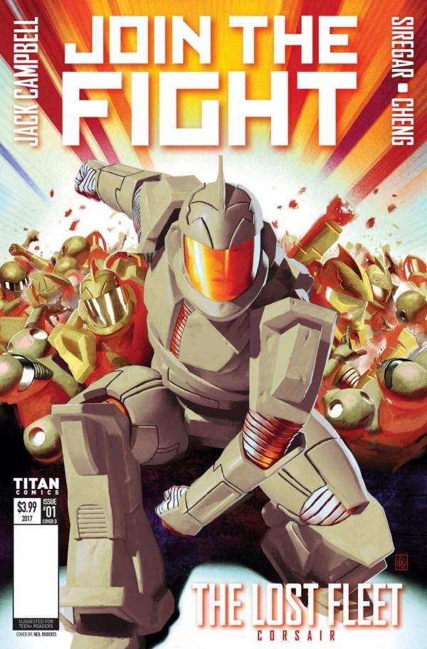 Lost Fleet: Corsair #1 Cover D by Neil Roberts