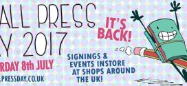 Britain's annual comics-promoting Small Press Day 2017 Announced for Saturday 8th July