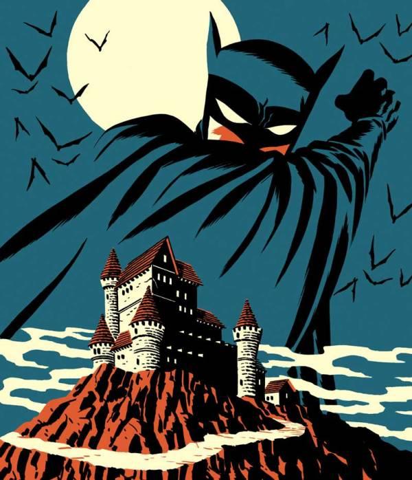 Batman by Michael Cho