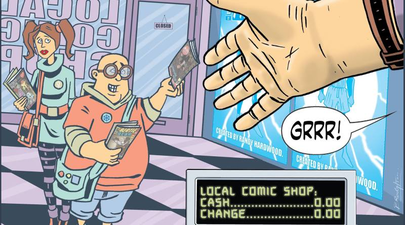 Comic Shop Survival Guide - How To Buy A Comic by David Broughton