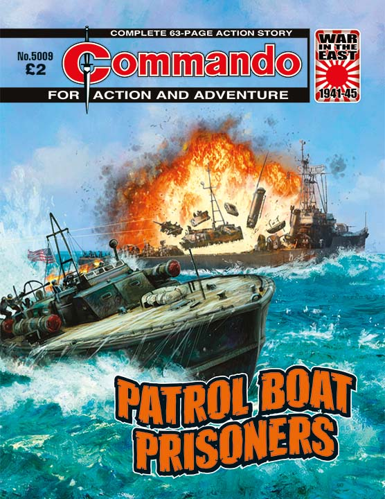 Commando Issue 5009: Patrol Boat Prisoners