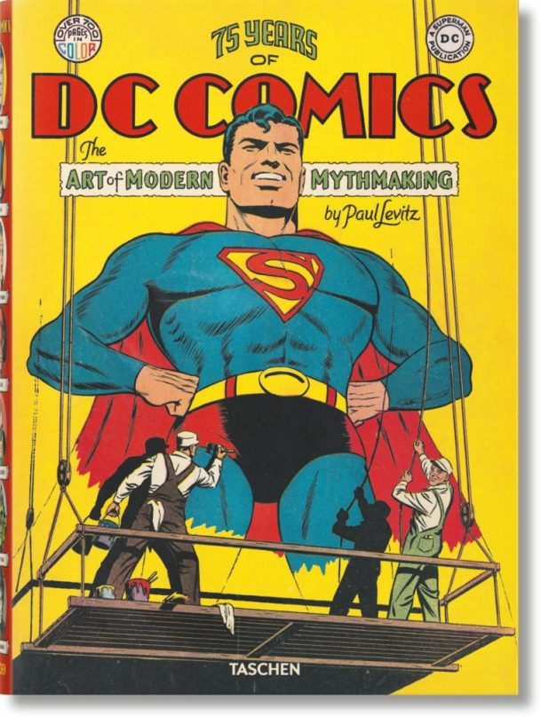 75 Years of DC Comics: The Art of Modern Mythmaking - Cover