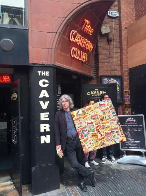 Tim Quinn outside the Cavern Club