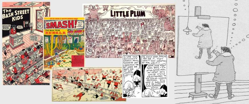 From the Archives: Last Words from Leo - An Interview with Leo Baxendale