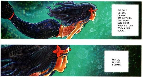 Little Mermaid by Metaphrog Art 001