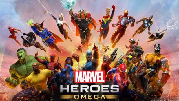 Marvel Heroes Omega - Key Art