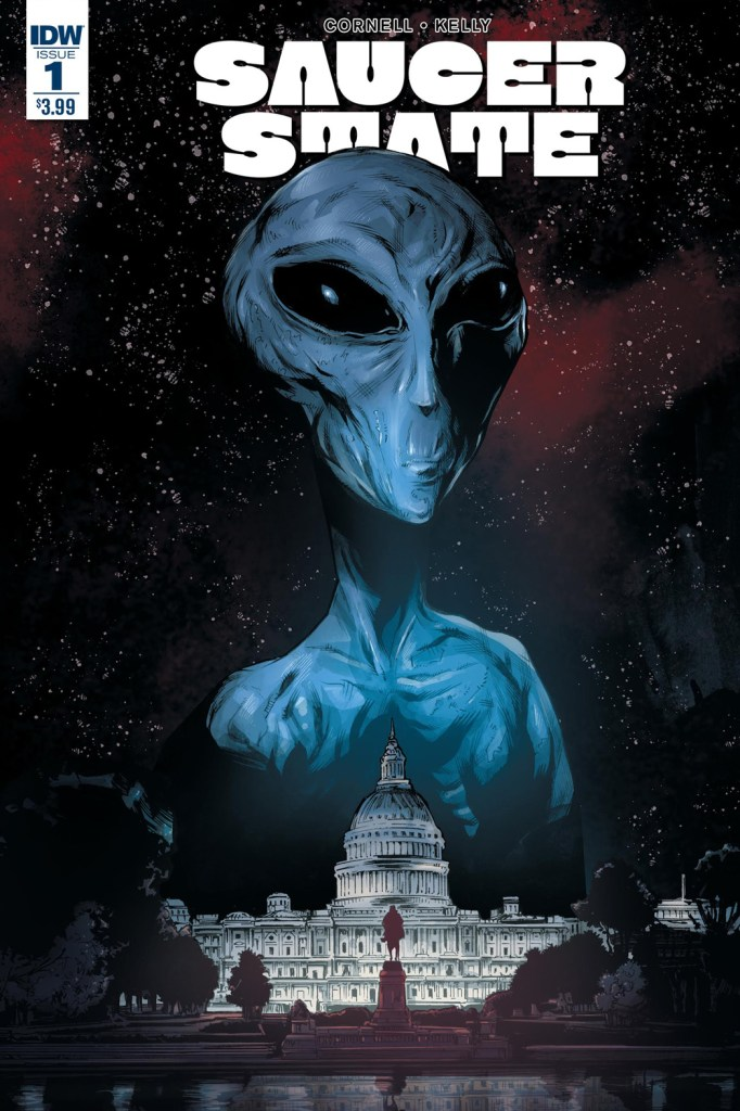 Saucer State #1 - Cover