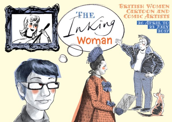 Cartoon Musuem: The Inking Woman Exhibition