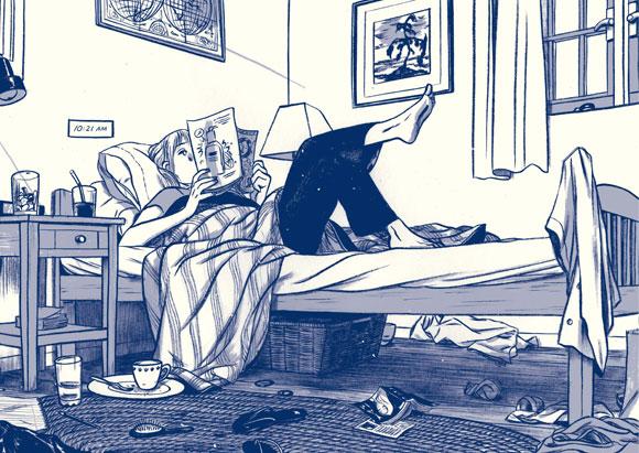 This One Summer written by Mariko Tamaki and illustrated by Jillian Tamaki