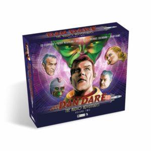 Dan Dare: The Audio Adventures Volume Two - Box Art