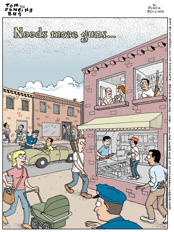 A cartoon by Reuben Award nominee Ruben Bolling