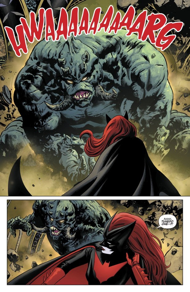DC Universe Rebirth: Batwoman #1 - Sample Art