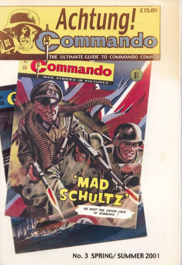 Achtung! Commando Issue Three