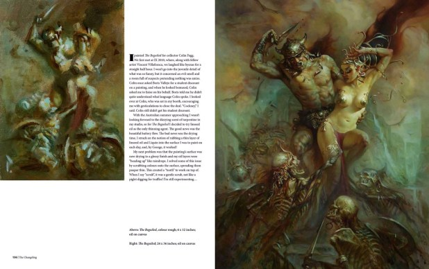 The Sci-Fi & Fantasy art of Patrick J. Jones - Sample Spread