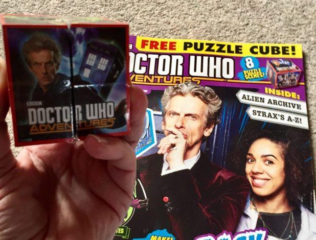 Doctor Who Adventures Issue 23 - Conunudrum Cube