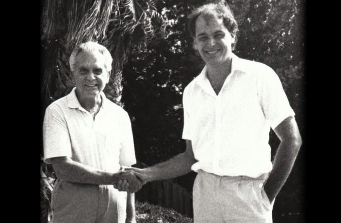 Jack Kirby and Glenn Fleming, 1988