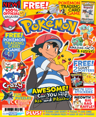 Pokémon Magazine Issue One - Cover