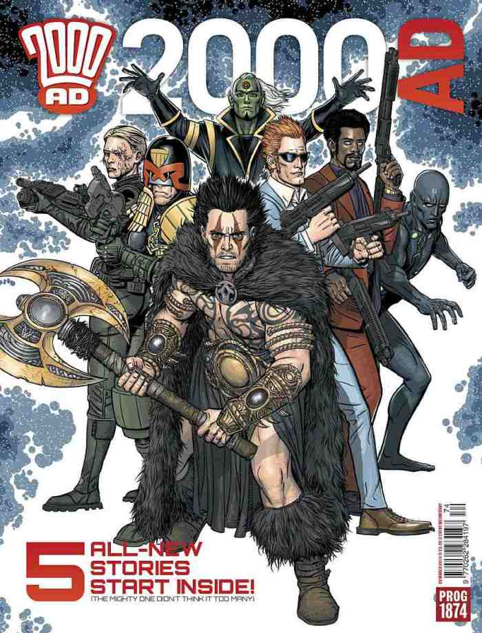 2000AD  Prog 1874 - Cover by Edmund Bagwell