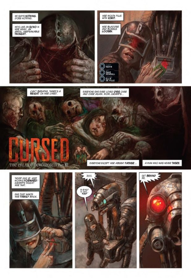2000AD 2033 The Fall of Deadworld: Cursed - Part 11