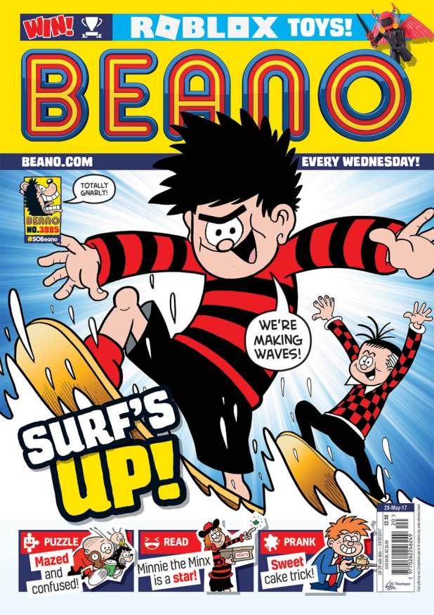 Beano 3885 - Cover