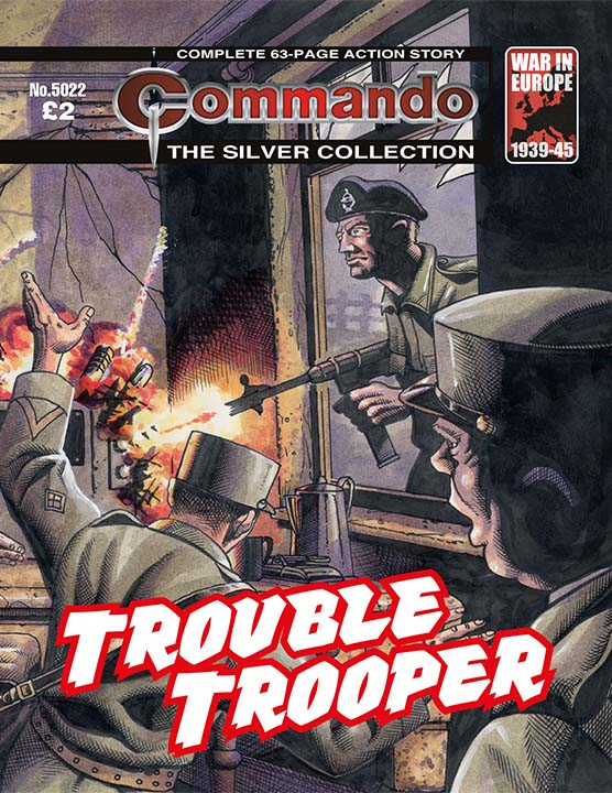 Commando 5022 (The Silver Collection): Trouble Trooper