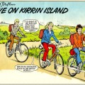 "Art from ""Five on Kirrin Island"" by Barrie Mitchell for the pilot issue of Enid Blyton Adventures Magazine"