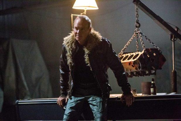 Michael Keaton as Adrian Toomes aka The Vulture