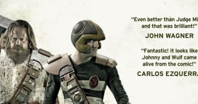 Search/Destroy: A Strontium Dog Fan Film Poster SNIP